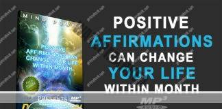 Positive Affirmations Audio CD